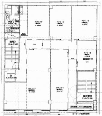 画像1:第2福岡ONビル,事務所, SOHO事務所,福岡市博多区博多駅前3-23-17