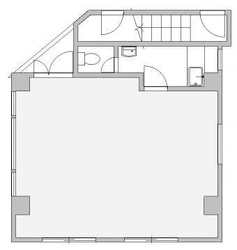 画像1:赤司ビル,事務所, 店舗,福岡市中央区薬院薬院2丁目4番23号