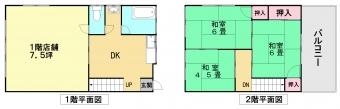 画像1:鶴田店舗付住宅,店舗,福岡市南区鶴田3丁目10番43号