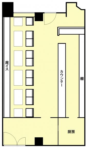 画像3:博多駅東コーポ 1階,店舗,福岡市博多区東比恵2丁目1番5号