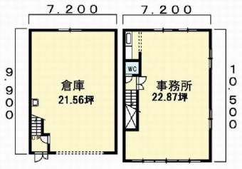 画像1:那珂3丁目倉庫事務所,倉庫(事務所付),福岡市博多区那珂3-18-26