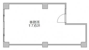 画像1:東カン第2キャステール,事務所, 店舗,福岡市博多区比恵町1-18