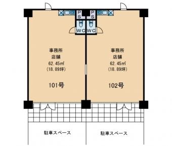 画像3:フレーヌ,事務所, 店舗,福岡市博多区博多駅南3-16以下未定