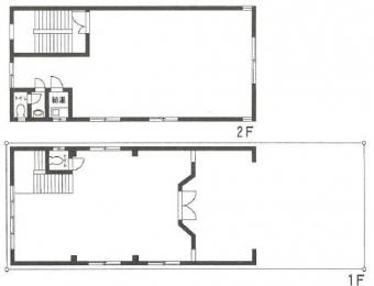 画像1:比恵町倉庫事務所,倉庫(事務所付), 駐車場付事務所,福岡市博多区比恵町16番26号