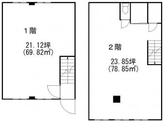 画像2:榎田倉庫事務所B号,倉庫(事務所付), 事務所,福岡市博多区榎田2丁目8番35号