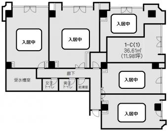 画像1:博多駅東コーポ,事務所, 店舗,福岡市博多区東比恵2丁目1番5号