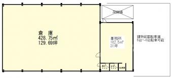 画像2:林田倉庫,倉庫(事務所付),福岡市博多区博多駅南4丁目16-35